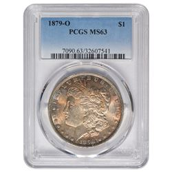 1879-O $1 Morgan Silver Dollar Coin PCGS MS63