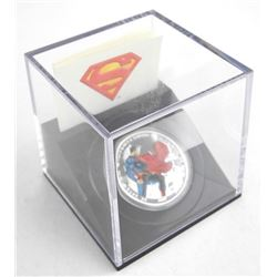 2013 .9999 Fine Silver $20.00 Coin 'Man of Steel'