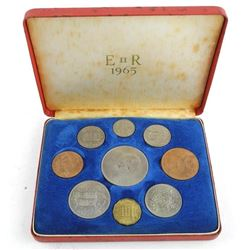Estate 1965 British Coin Set