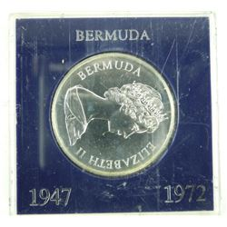 1972 Bermuda 925 Silver One Dollar