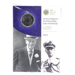 Royal Mint 2011 - Prince Philip Coin
