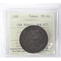 ICCS - Token MS60. CH # NS6A1: BR#875