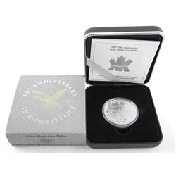 1987-1997 10th Anniversary Silver Proof Loon