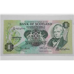 Scotland 1981 1 Pound UNC