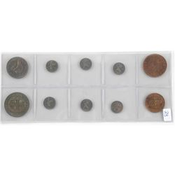 Lot (10) Coins of New Zealand