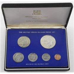 British Virgin Islands Proof Set