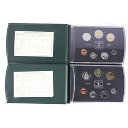 Lot (2) RCM Specimen Coin Sets: 1999-2000