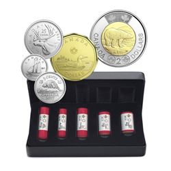2017 Classic Canadian Coins Special Wrap - 5 Roll