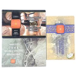 Lot (3) RCM Proof Coin Sets: 2001,2002, 2003