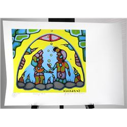 Norval Morrisseau (1931-2007) Giclee 'Shaking Tent