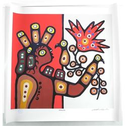Christian Morrisseau (1969-) Giclee Pair of 'OJIBW