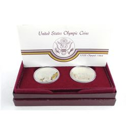 1984 U.S. Olympic Coin Set .900 Fine Silver