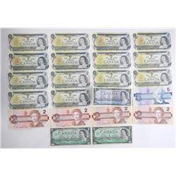 Estate Lot - Mixed Notes Bank of Canada