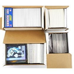 Estate Lot (4) Boxes Sports Cards
