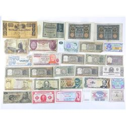 Estate Lot - World paper Currency