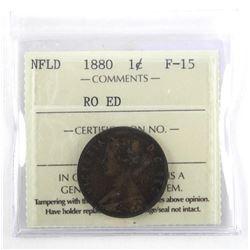 NFLD - 1880 1 Cent F-15 ICCS.