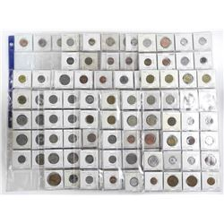 Lot (15) Pages - Mixed Word Coins Identified