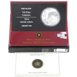 .9999 Fine Silver 20.00 Coin Tall Ships - 'Ketch'