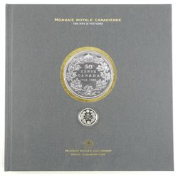 100th Anniversary RCM Book with Silver 50 Cent Coi