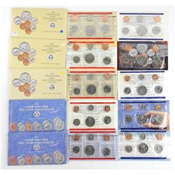 Lot (5) 1990 and 1991 UNC US Coin Sets