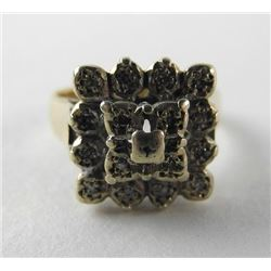 (11) Estate 9kt Gold Ring Handmade