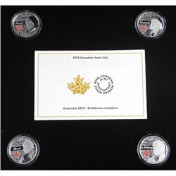 RCM 2013 .9999 Fine Silver 5 Coin Set, Canadian Ic