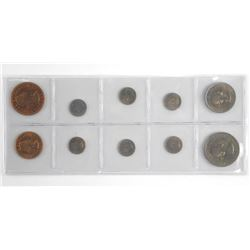 Lot (10) New Zealand Coins
