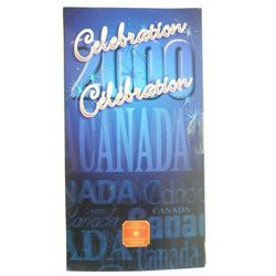 2000 25c Canada Day - Coloured Coin