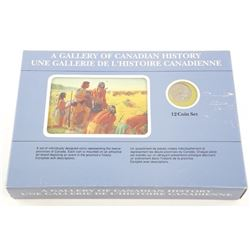 A Gallery of Canadian History 12 Coin Set