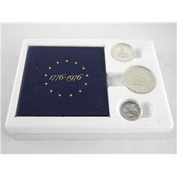 USA 1776-1976 Bicentennial 3 Coin Set