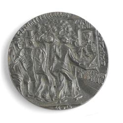 Sinking of the 'LUSITANIA' May 1915 Medal