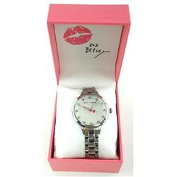 Estate 'NEW' Betsey Johnson Watch MSR 125 - with P