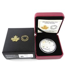 2015 .9999 Fine Silver $20.00 Coin 'Holiday Reinde