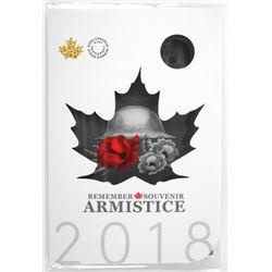 Armistice 6 Coin Folio Red Poppy - Special Toonie