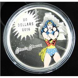 .9999 Fine Silver $20.00 Coin 'The Amazing Amazon'