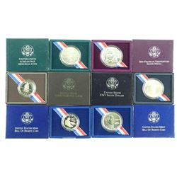 Lot (6) USA .900 Fine Silver Medals