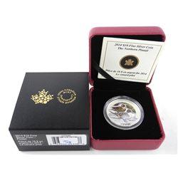 2015 .999 Fine Silver $10.00 Coin 'PINTAIL' LE/C.O