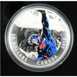 .9999 Fine Silver $20.00 Coin 'Superman - Unchaine