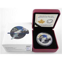 .9999 Fine Silver $20.00 Coin 'The Beaver' LE/C.O.