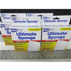 4 New packs of Ultimate Sponge/Magic Eraser / 2 per pack