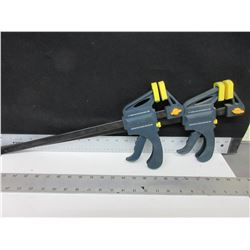 2 Somona Ratcheting  Bar Clamps / 1 is 12 inch & 1 is 18 inch