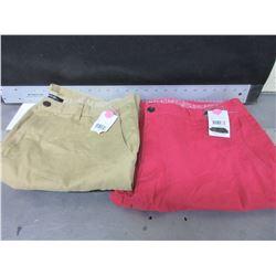 New 2 Pairs Women's Shorts size 36 waist