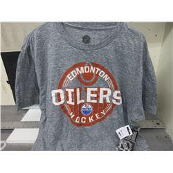 New Oilers T-Shirt size Large / official with NHL Tags