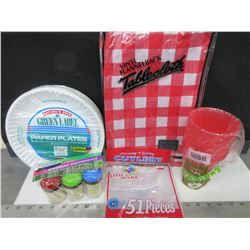 Camping & Picnic Bundle / Make your day easy with no mess / comes