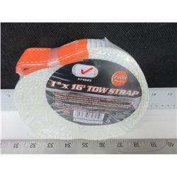 "New 1"" x 16ft Tow Strap 7500lb perfect for ATV'S and other Rec Vehicles"