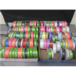 HUGE Assortment of Ribbon / assorted sizes , colors and styles