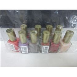 Bag with 10 New L'Oreal Nail Polish Assorted colors / over 70.00 worth