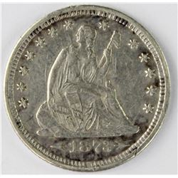 1873 ARROWS SEATED QUARTER