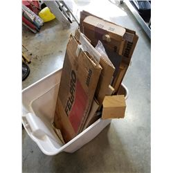 TOTE OF AUTOMOTIVE GASKETS