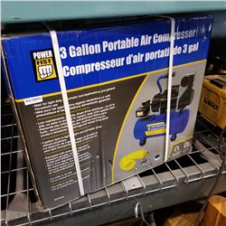 NEW POWERFIST 3 GALLON AIR COMPRESSOR
